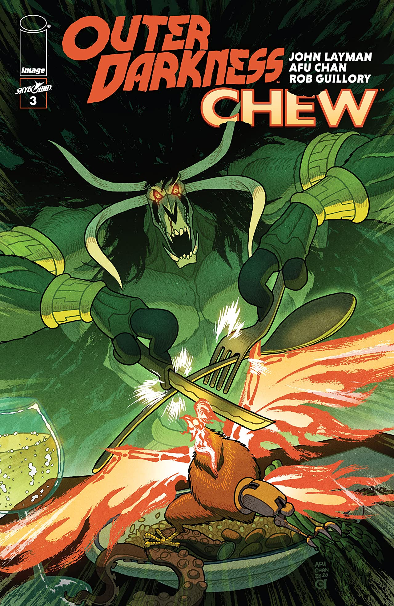 Outer Darkness/Chew No.3