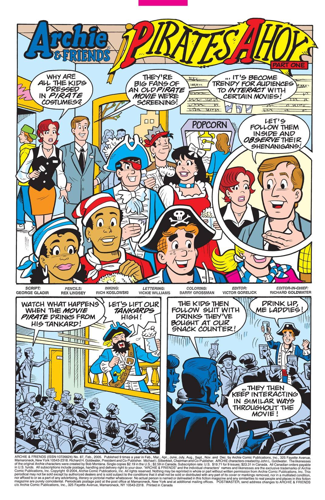 Archie & Friends #87