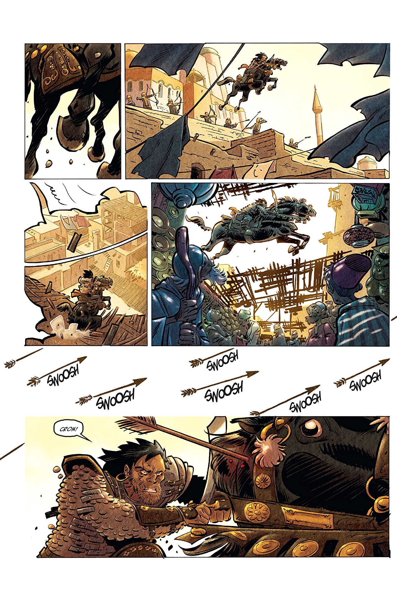The Cimmerian #1: Queen of the Black Coast