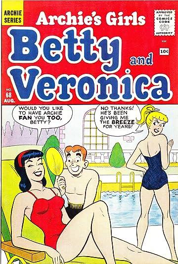 Archie's Girls Betty & Veronica #68