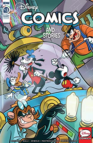 Disney Comics and Stories #13