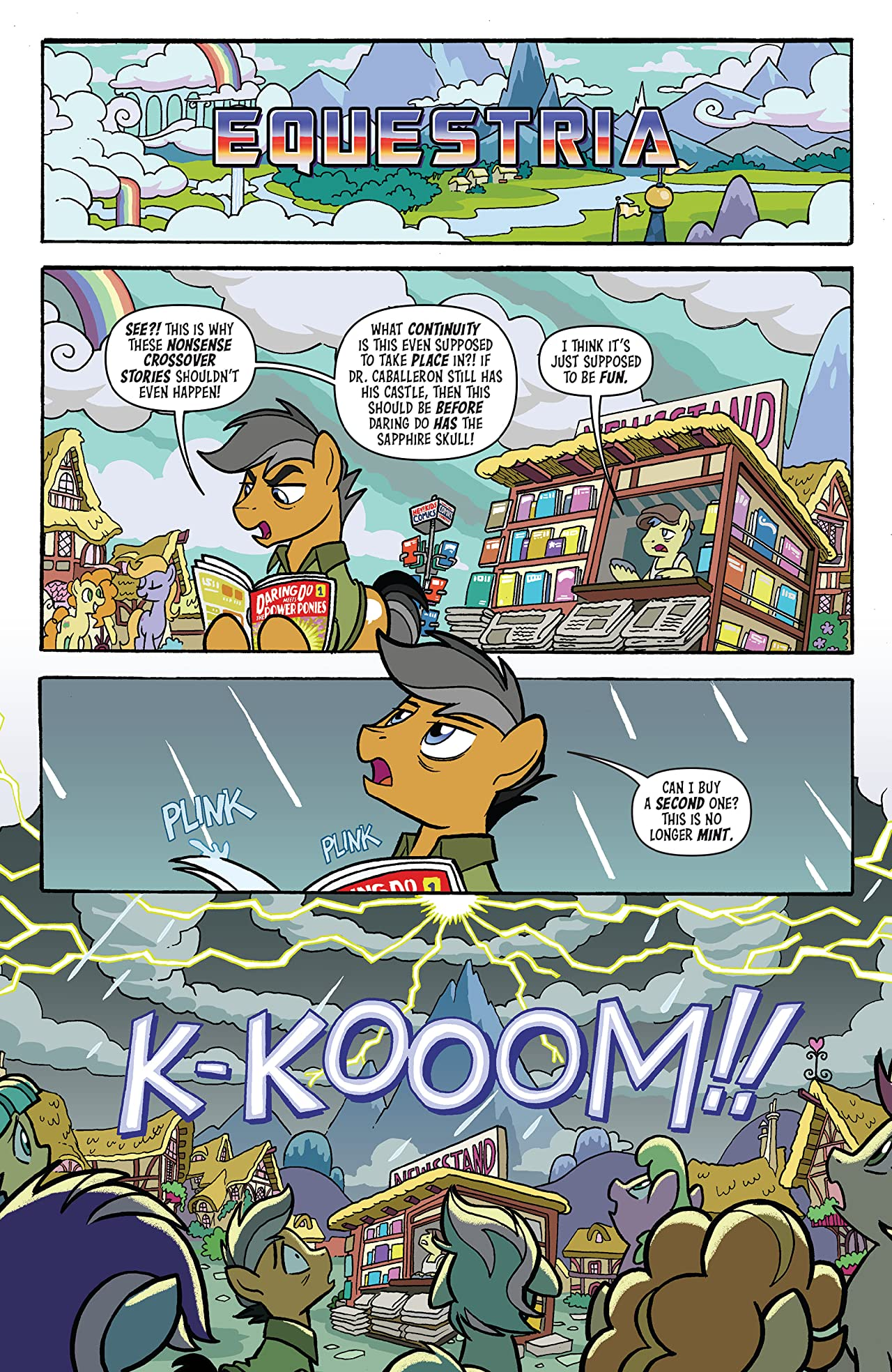 My Little Pony/Transformers #1 (of 4)