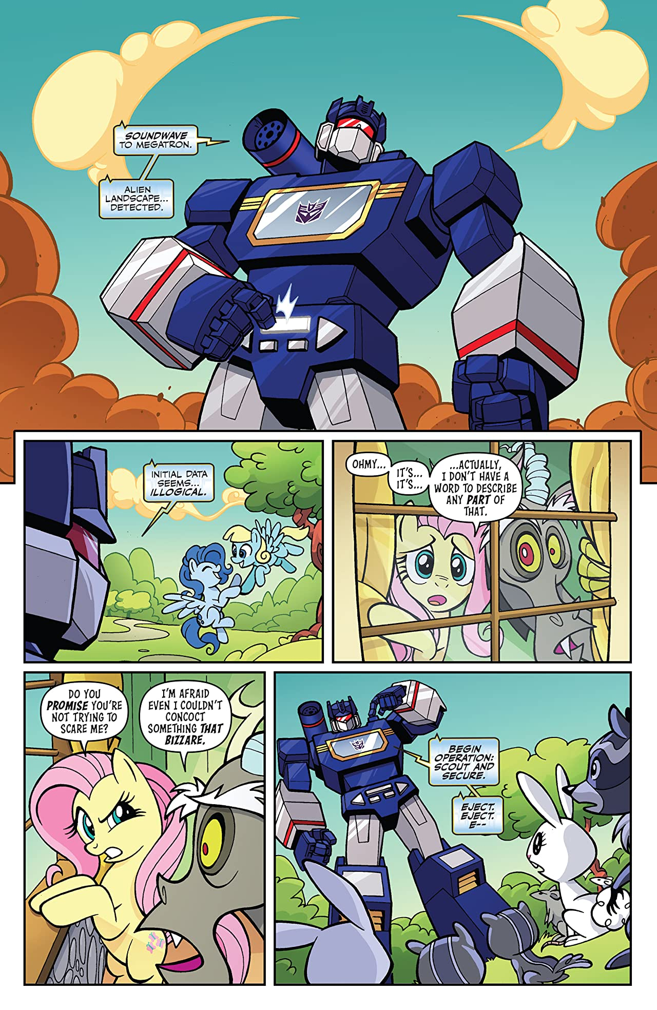 My Little Pony/Transformers #3 (of 4)