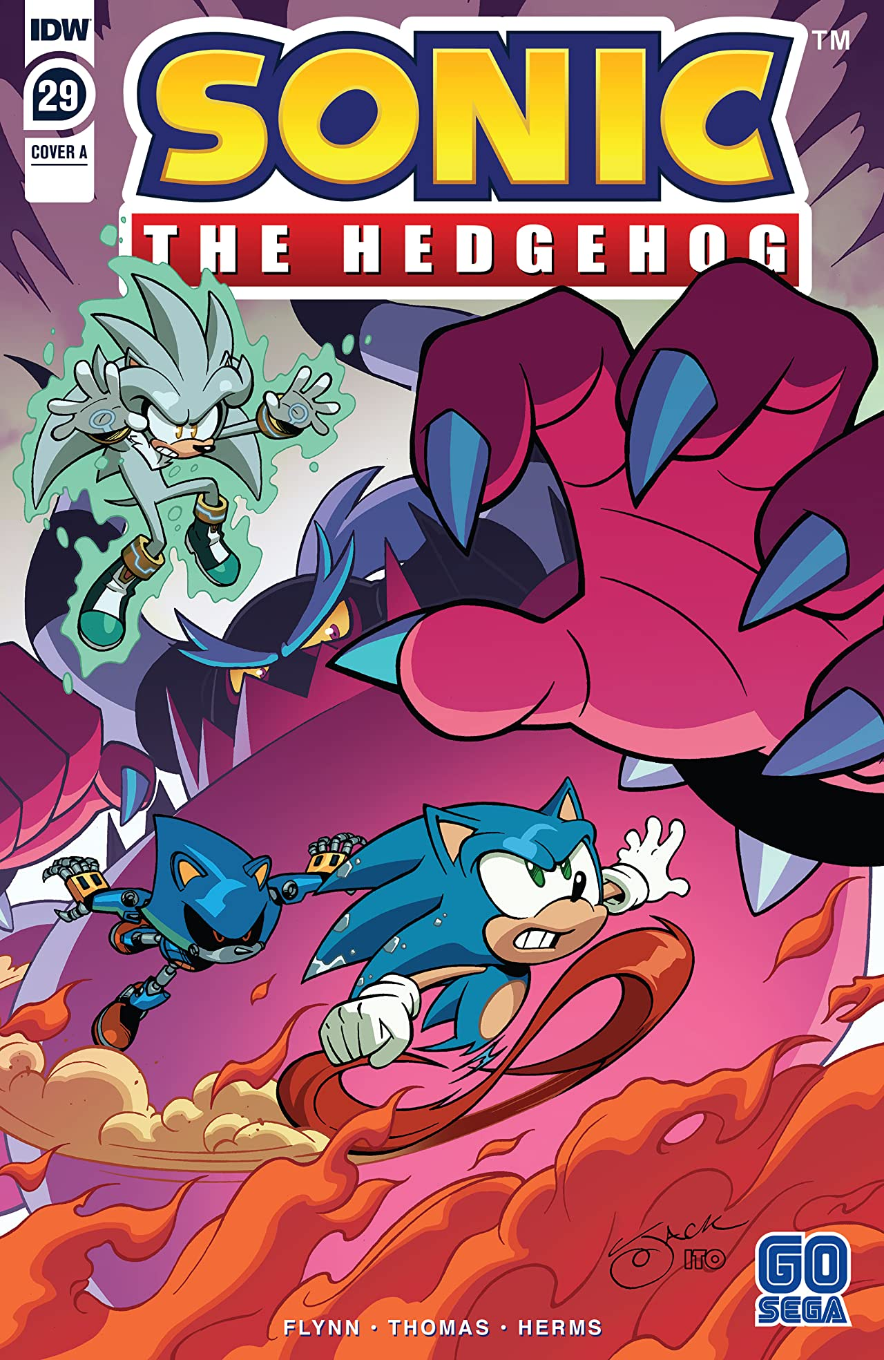 Sonic The Hedgehog (2018-) No.29