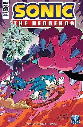 Sonic The Hedgehog 2018 29 Comics By Comixology