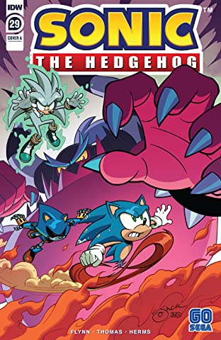 Sonic The Hedgehog (2018-) #29