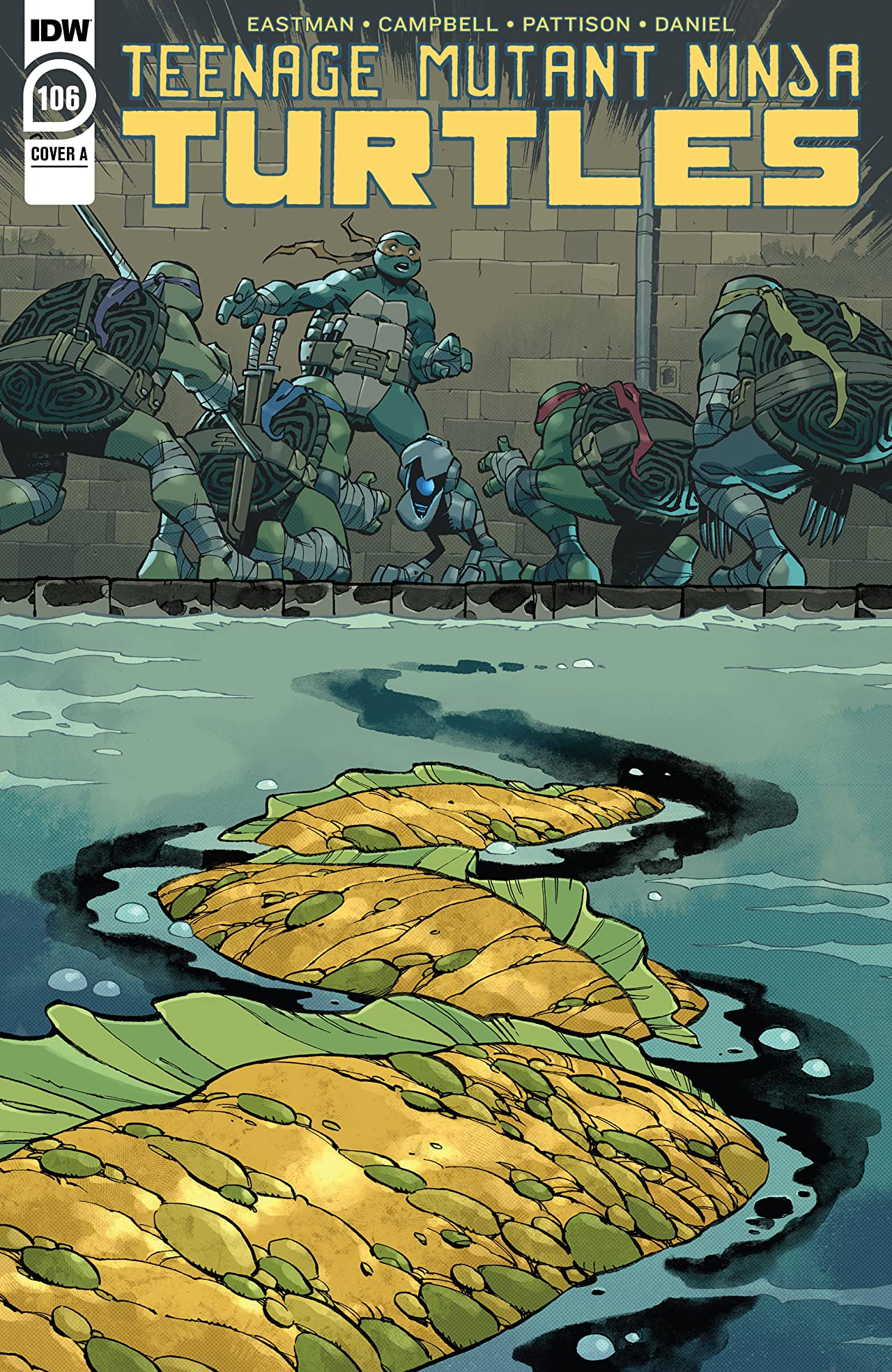 Teenage Mutant Ninja Turtles No.106
