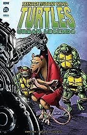 Teenage Mutant Ninja Turtles: Urban Legends #25