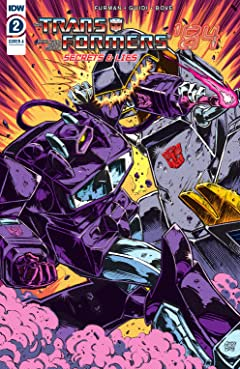 Transformers '84: Secrets and Lies #2 (of 4)
