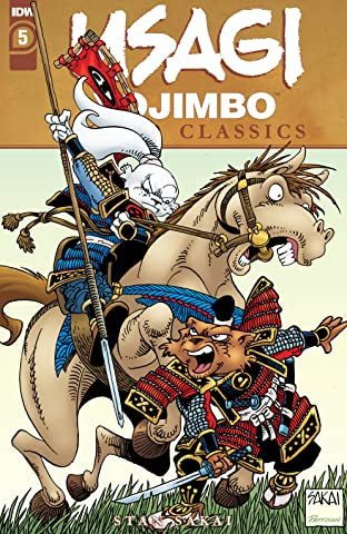 Usagi Yojimbo Color Classics #5