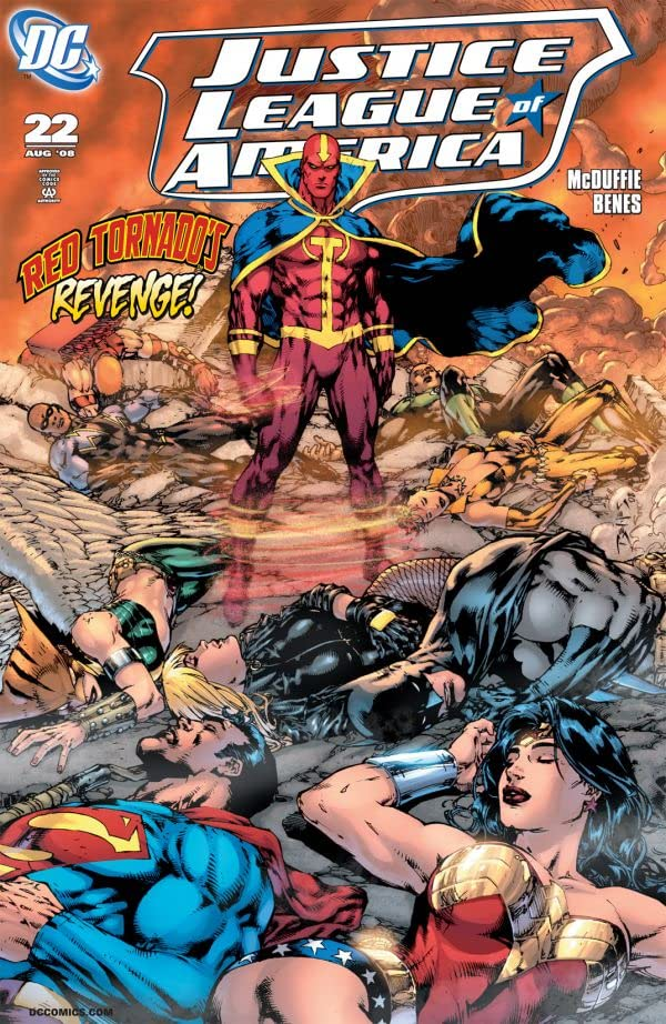 Justice League of America (2006-2011) #22