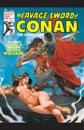 Savage Sword Of Conan (1974-1995) #18