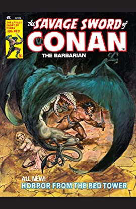 Savage Sword Of Conan (1974-1995) #21