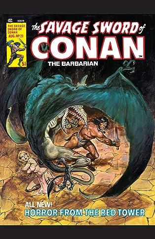Savage Sword Of Conan (1974-1995) #21