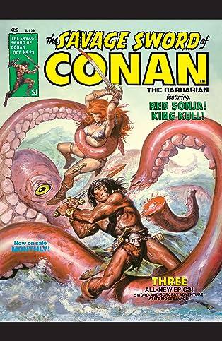 Savage Sword Of Conan (1974-1995) #23