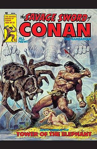 Savage Sword Of Conan (1974-1995) #24