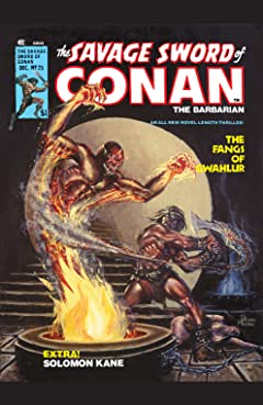 Savage Sword Of Conan (1974-1995) #25