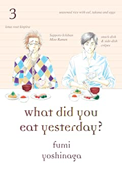 What Did You Eat Yesterday? Vol. 3