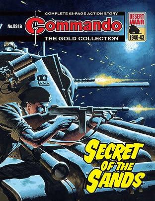 Commando #5316: Secret Of The Sands