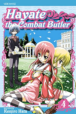 Hayate the Combat Butler Vol. 4