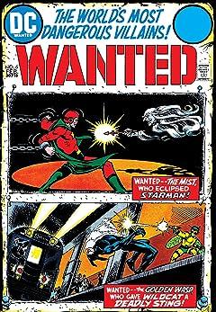 Wanted: The World's Most Dangerous Villains (1972-1973) No.6