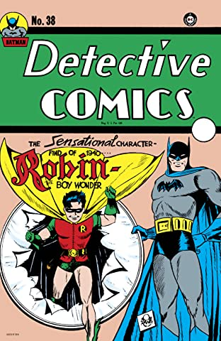 Detective Comics (1937-2011) No.38: Facsimile Edition (2020)