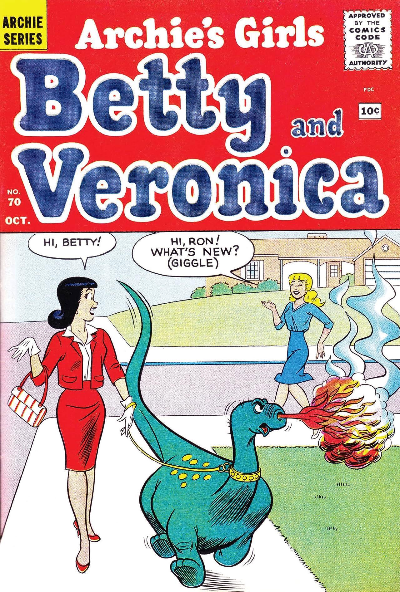 Archie's Girls Betty & Veronica #70