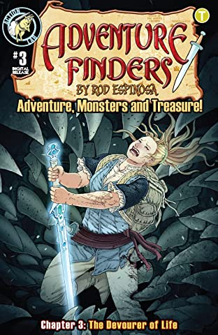 Adventure Finders: Adventure, Monsters and Treasure! No.3