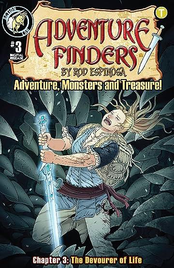 Adventure Finders: Adventure, Monsters and Treasure! #3
