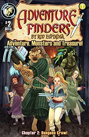 Adventure Finders: Adventure, Monsters and Treasure! No.2