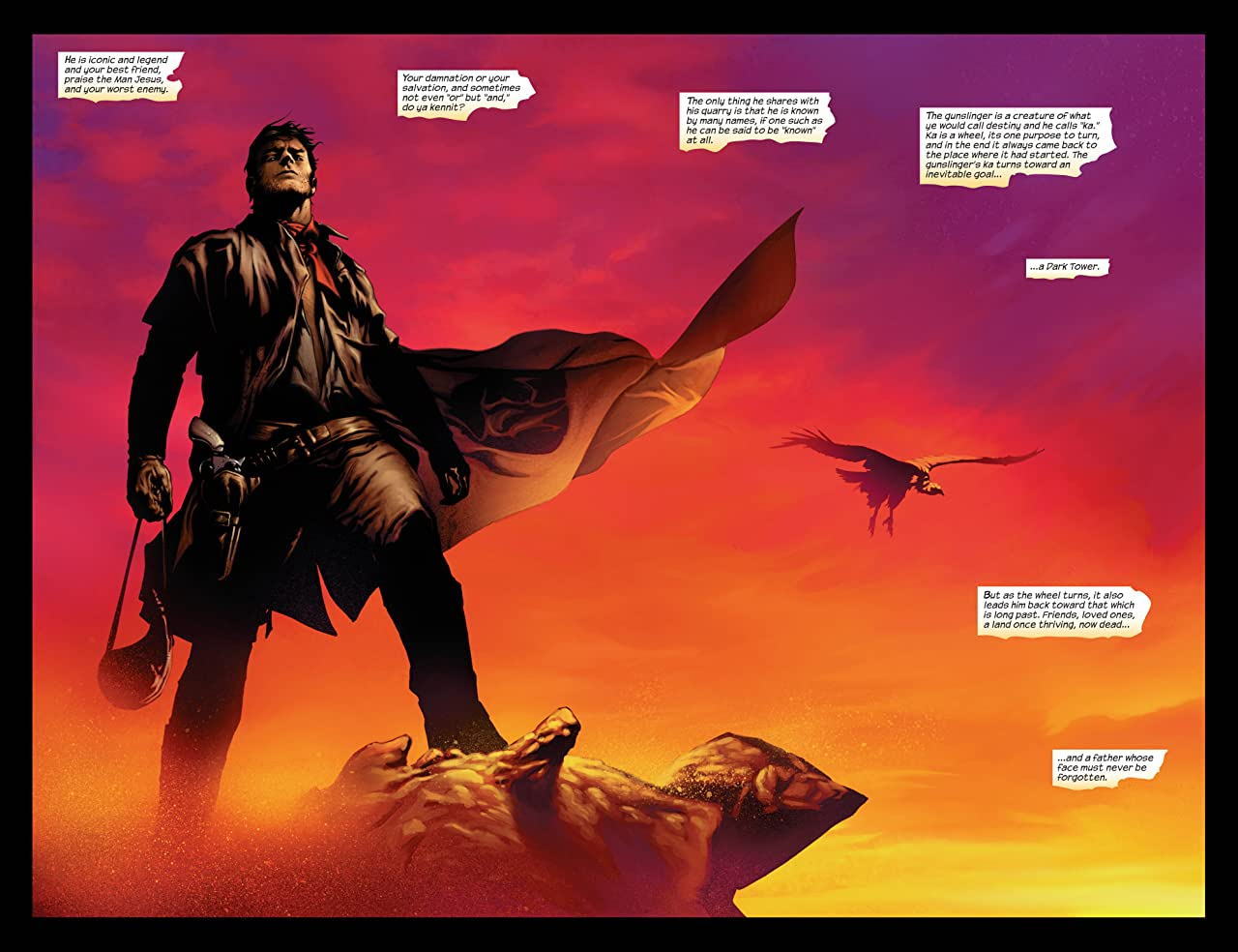 Dark Tower: The Gunslinger Born #1 (of 7)