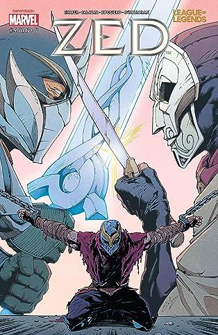 League Of Legends: Zed (Greek) #5 (of 6)