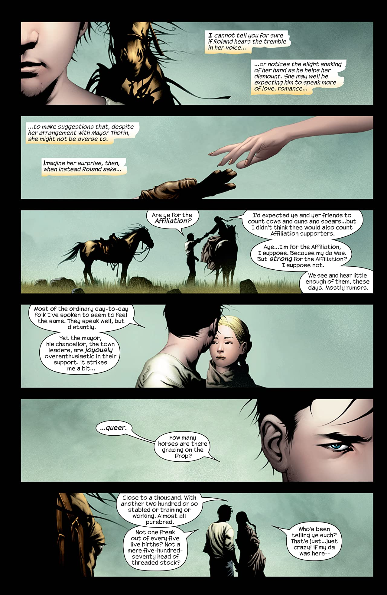 Dark Tower: The Gunslinger Born #4 (of 7)