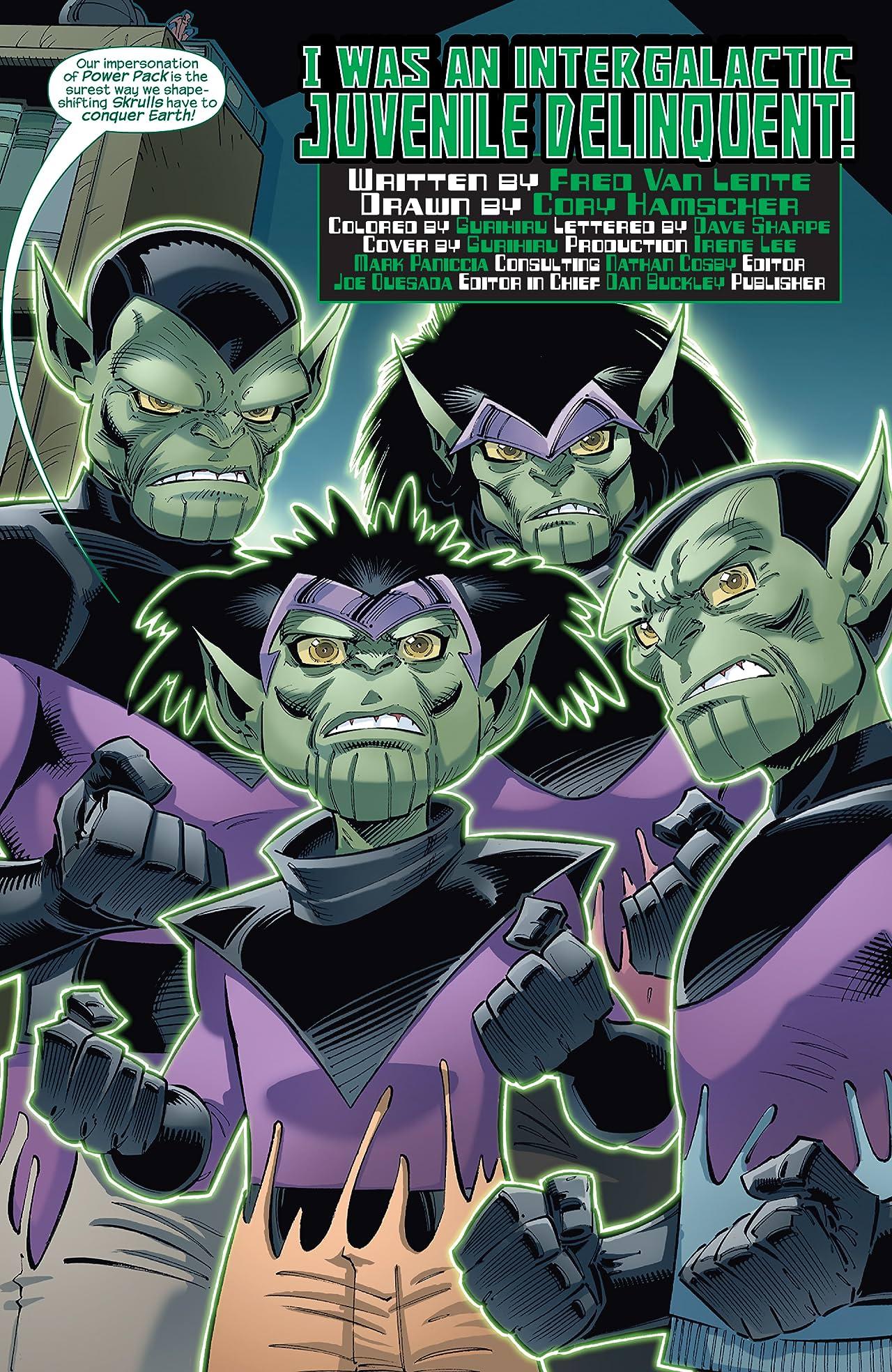 Skrulls vs. Power Pack