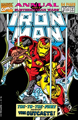 Iron Man (1968-1996) Annual #12