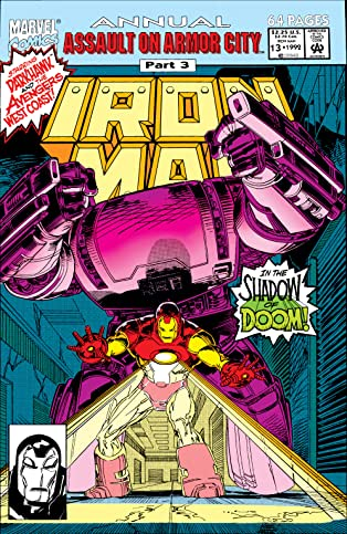 Iron Man (1968-1996) Annual #13