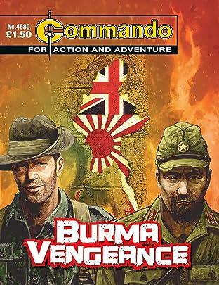 Commando #4580: Burma Vengeance