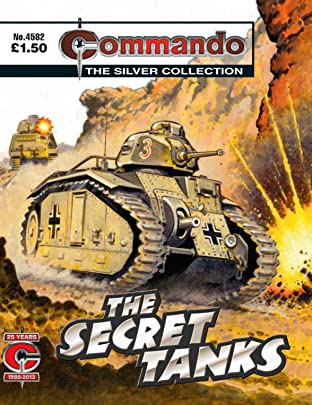 Commando #4582: The Secret Tanks