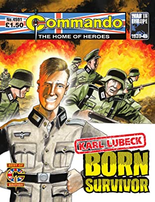 Commando #4591: Karl Lubeck: Born Survivor