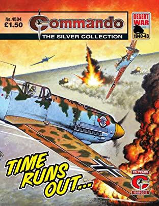 Commando #4594: Time Runs Out…