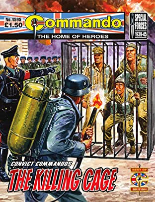 Commando #4595: Convict Commandos: The Killing Cage