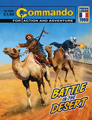 Commando #4596: Battle In The Desert