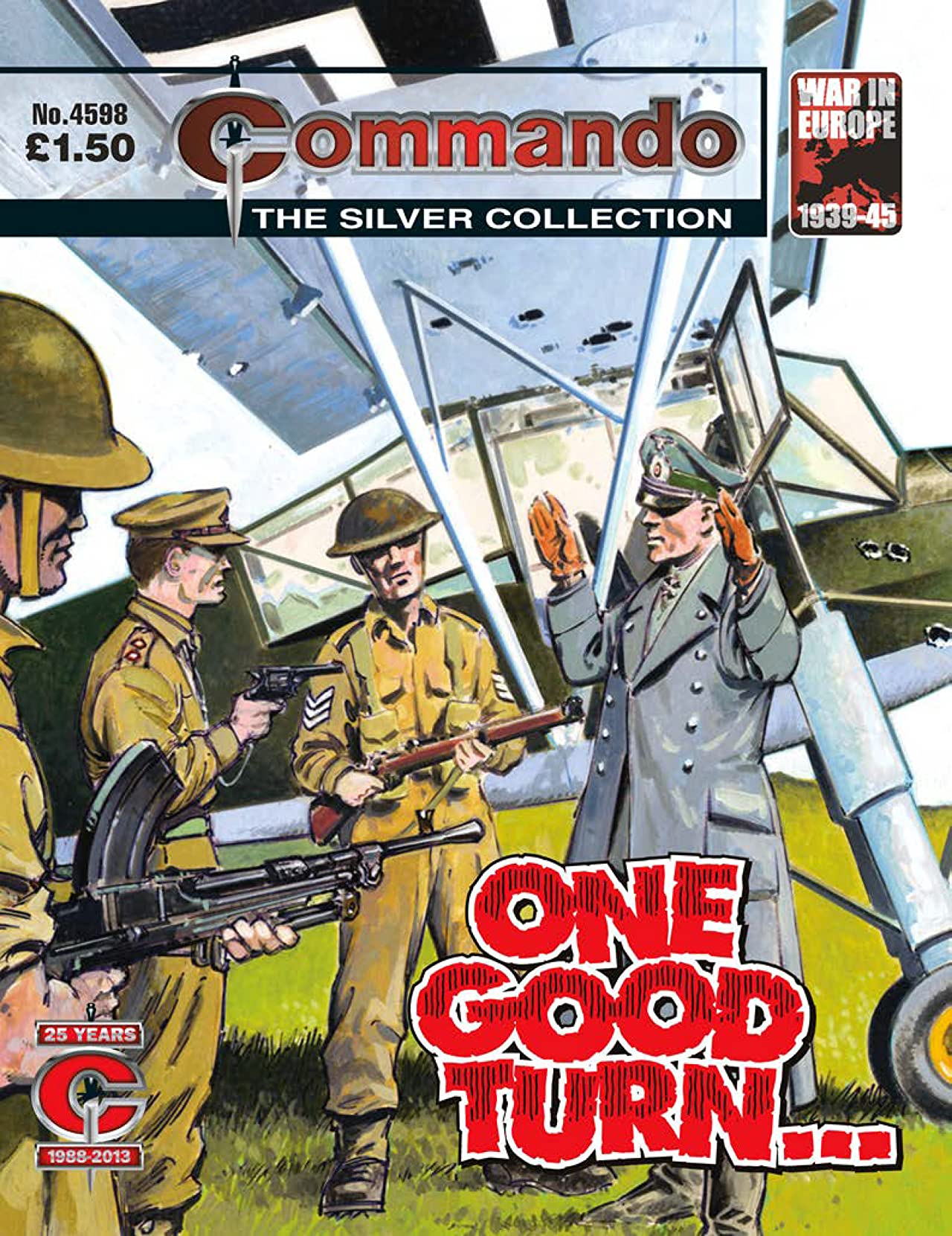 Commando #4598: One Good Turn