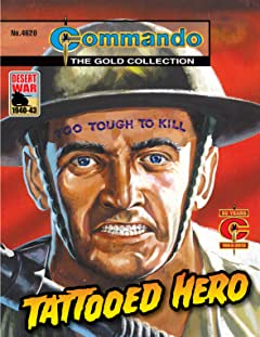 Commando #4620: Tattooed Hero