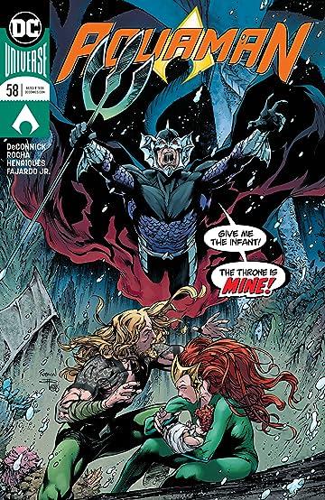 Aquaman (2016-) #58