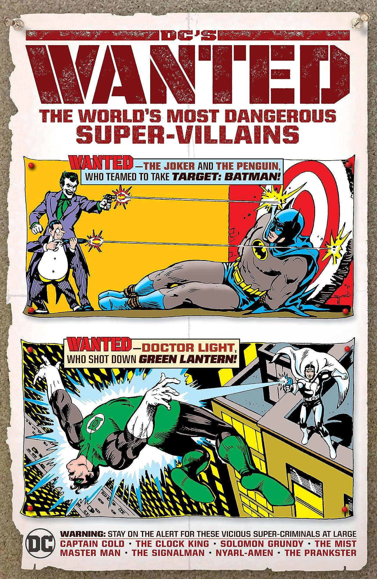 DC's Wanted: The World's Most Dangerous Super-Villains