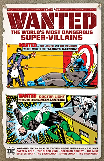 DC's Wanted: The World's Most Dangerous Super-Villains