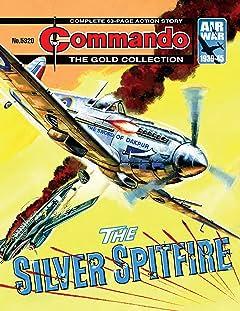 Commando #5320: The Silver Spitfire