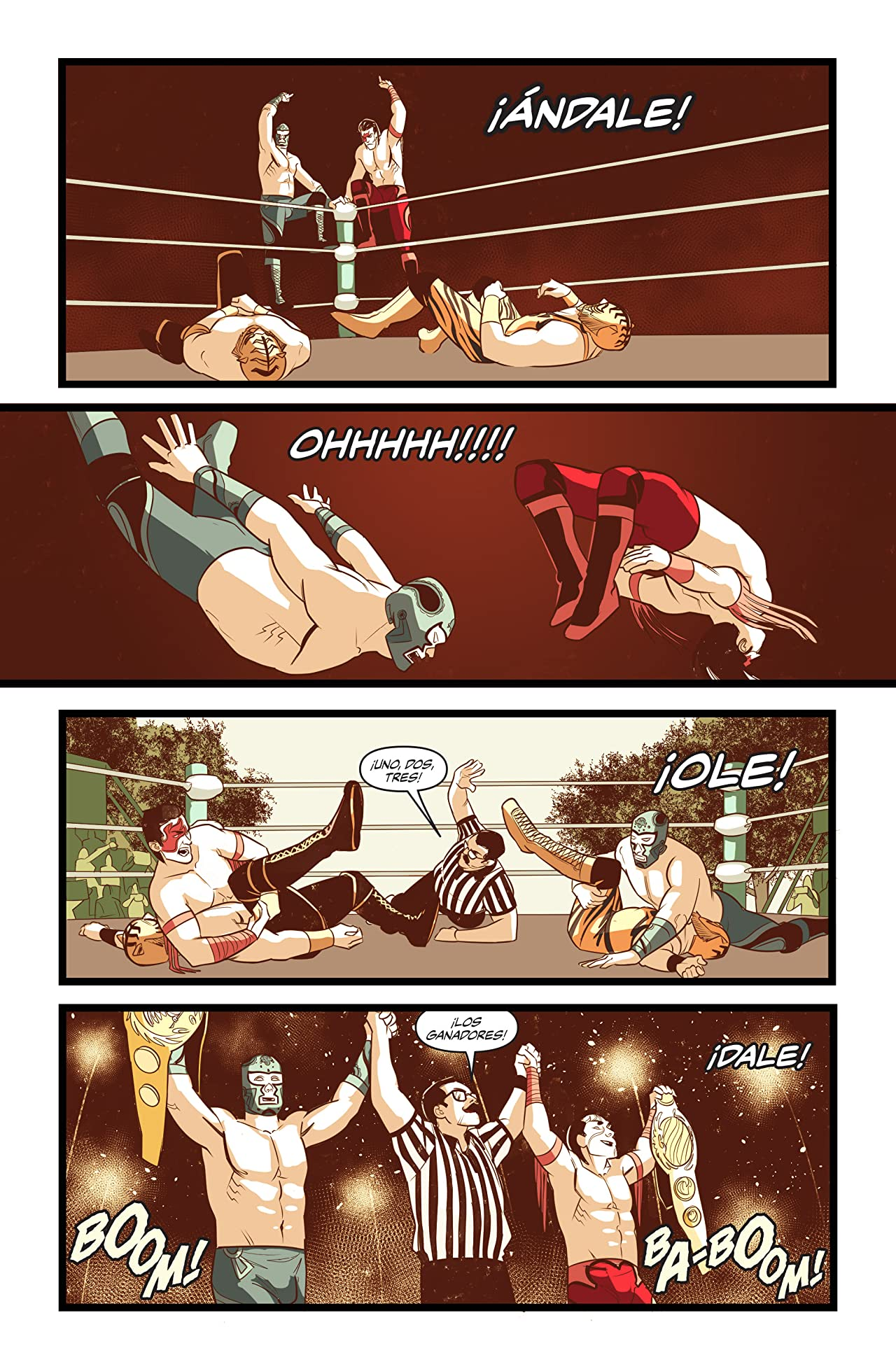 Over the Ropes #4
