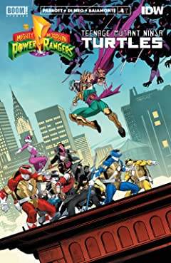 Mighty Morphin Power Rangers/Teenage Mutant Ninja Turtles #4